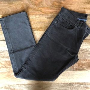 Banana Republic Charcoal Corduroy Pants